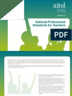 aitsl national professional standards for teachers