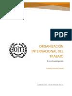 Organización Internacional de Trabajo (Resumen)