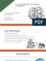 Gruposbasicos Delaalimentacion Formadores Reguladores y Energeticos