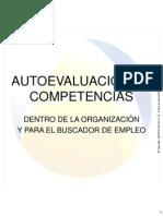 4. Autoevaluación de Competencias
