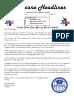 Spring 3-13 Newsletter