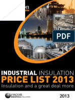 Encon Industrial Price List 2013