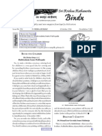 magazine about bhakti yoga kkbindhu