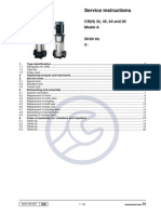 Grundfos Repairing Instruction Manual