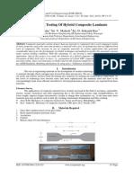 Modeling & Testing Of Hybrid Composite Laminate