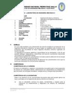 Silabo-Laboratorio Ing Mecanica II