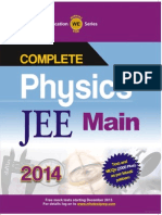 Mhe Physics Jee Main 2014