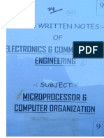 9.MicroProcessor & Computer Organisation