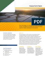 1.1 Array Technologies Inc. Fact Sheet