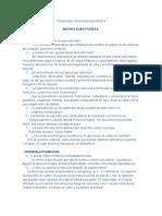 Cuestionario de Microbiología Médica