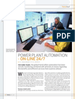 Power Plant Automation