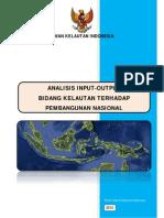 Lap. Analisis Input-Output Bidang Kelautan Terhadap Pembangunan Nasional