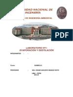 Informe Lab.1 Química II