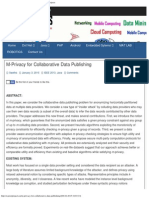 M-Privacy for Collaborative Data Publishing _ CareerProjects