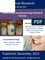 United States Anesthesia Drugs Market & Forecast