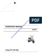 Manual Vespa P150X