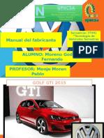 Manual de fabricante