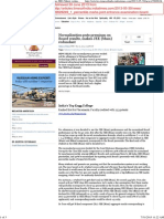 News Normalization Premium on Board Results TOI