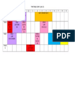 Timetable Sem 5 Jan 15