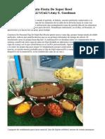 10 De Último Minuto Fiesta De Super Bowl FoodsA�Un�|A�Un�Amy E. Goodman