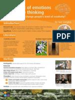 EUPP Emotions and Creativity Handout
