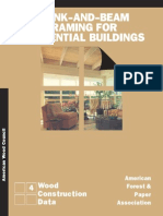 Plank and Beam Framing for Residential Buildings