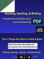 Reading Spelling Writing