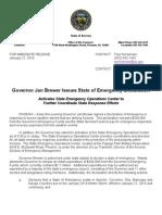 PR_012110_ GovernorBrewerDeclaresStateofEmergency