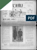 L'Aiòli. - n°325 (Setèmbre 1930)