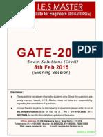 Ce Gate 2015 Sol.