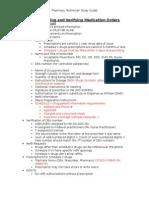 1.Pharmacy Technician Study Guide