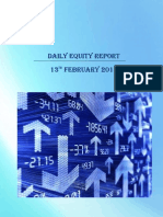 Daily Equity Market Report-13 Feb 2015
