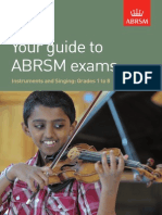 ABRSM Your guide to ABRSM exams