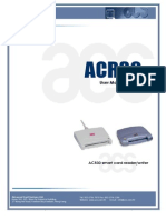 User Manual ACR30