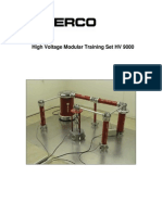 High Voltage Modular Training Set