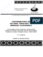 Islamic thought in modern economics