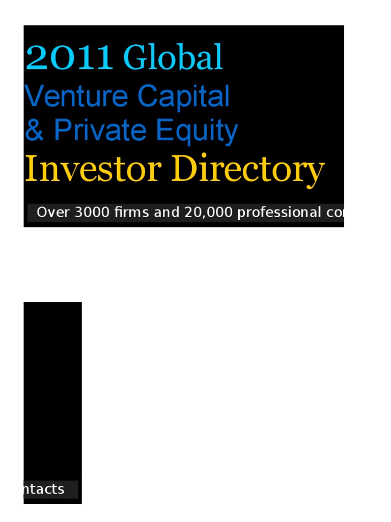 375c012f5d Private Equity Database