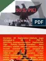 G30S/PKI