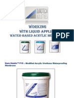 Buy Waterproofing Membrane- Durotech Industries