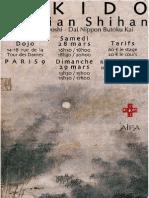 03/2015 Aikido Seminar Paris