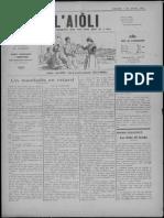 L'Aiòli. - n°333 (Janvié 1931)