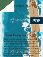 EKO. MAKRO - Pasar Barang Dan Pasar Uang