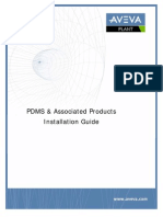 PDMS and Associated Products Installation Guide