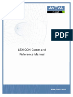 LEXICON Command Reference Manual