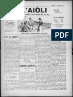 L'Aiòli. - n°335 (Abriéu 1931)