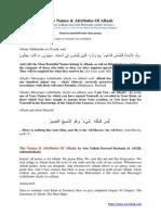 Names Allaah Abu Talhah Dawood Burbank