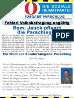 FPÖ Kapfenberg Aussendung Dezember 2014 - Parschlug