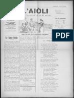 L'Aiòli. - n°337 (Jun 1931)