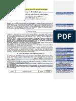 ANOVA Techniques for Reliability Analysis. REV 1 CAT Doc