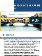 Reasons for Florence italy tourism